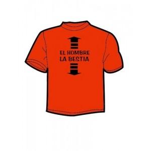 Camiseta Aqui Hombre Aqui Bestia