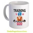 Taza Training to go Supersaiyan GOD