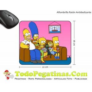 Alfombrilla Los Simpsons