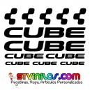 Pegatinas Cube