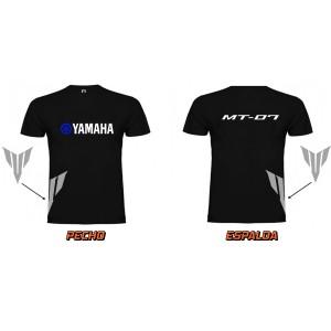 Camiseta Yamaha MT-07 Azul