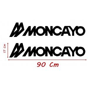 Vinilo Caravana Moncayo 90x17 Cm