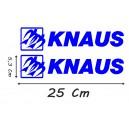 Vinilo Caravana Knaus 25 Cm