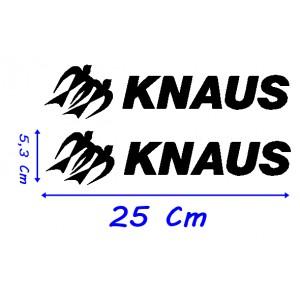 Vinilo Caravana Knaus 25 Cm Modelo 2