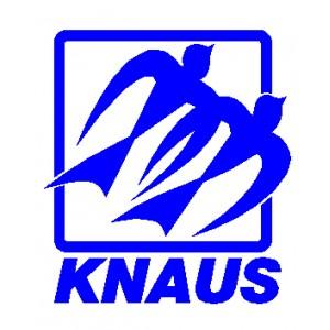 Vinilo Caravana Knaus Logo 20 Cm