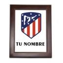 Azulejo Atletico de Madrid Nuevo Escudo Personalizado Nombre