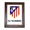 Azulejo Atletico de Madrid Personalizado Nombre