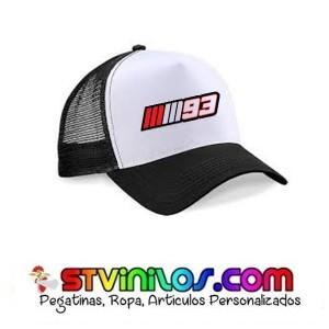 Gorra Logo Marquez MM93
