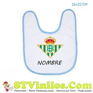 Babero Real Betis Personalizado Nombre