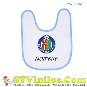 Babero Getafe Personalizado Nombre