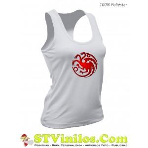Camiseta Mujer Juego de Tronos Targaryen
