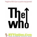 Pegatina The Who Logo