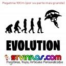 Pegatina Fortnite Evolution