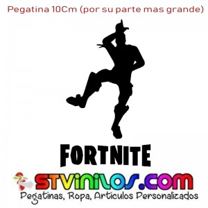 Pegatina Fortnite Largate Pringao