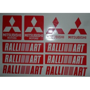 Pegatinas Mitsubishi Ralliart