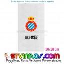 Toalla RCD Espanyol Personalizada 50x30 Cm