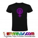 Camiseta Feminista Feminismo Logo Lucha