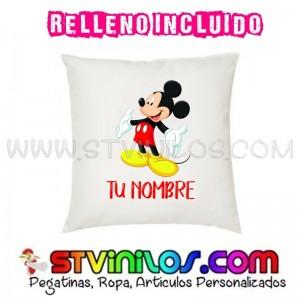 Cojin Mickey Mouse Personalizado con Nombre