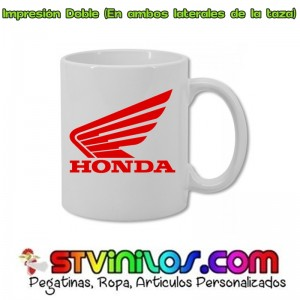 Taza Logo Honda