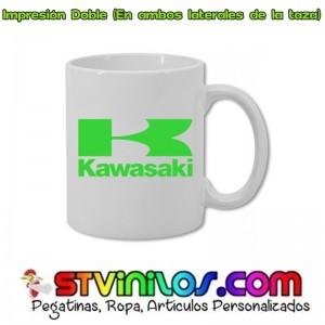 Taza Kawasaki Logo