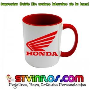Taza Logo Honda Roja