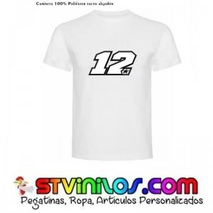 Camiseta Maverick Viñales 12