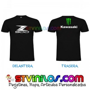 Camiseta Z900 Kawasaki Monster Energy Garra