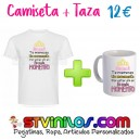 Camiseta + Taza: Mama te mereces un monumento