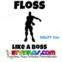 Floss Like a Boss Fortnite Repeat Decorativo Pared