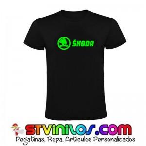 Camiseta Skoda Logo