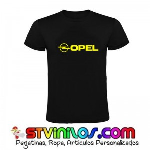 Camiseta Opel Logo