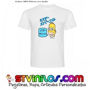 Camiseta Mr Crocket Homer Simpson