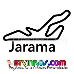 Pegatina Circuito del Jarama Madrid