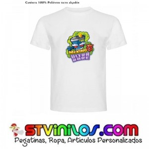 Camiseta SuperZings Mr King Ultra Rare