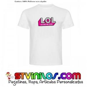 Camiseta Logo Muñecas LOL Surprise