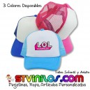 Gorra Logo Muñecas LOL Surprise