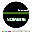 Oblea Kawasaki Personalizada con nombre