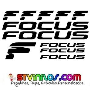 Pegatinas Focus Modelo 2