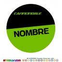 Oblea Cannondale Personalizada con nombre