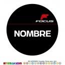 Oblea Focus Personalizada con nombre