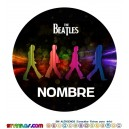 Oblea The Beatles  Personalizada con nombre