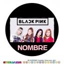 Oblea BlackPink  Personalizada con nombre