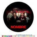 Oblea One Direction 1D Personalizada con nombre