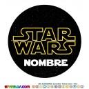 Oblea Star Wars Personalizada con nombre