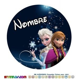 Oblea Frozen Personalizada con nombre