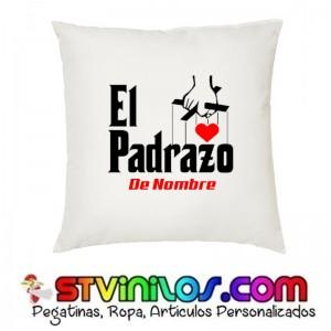 Cojin El Padrazo con nombre personalizado