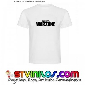 Camiseta Call Of Duty Warzone COD