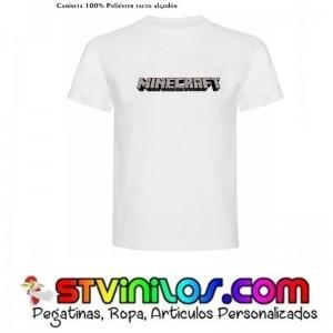 Camiseta Minecraft Logo