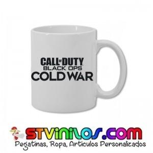 Taza COD call of duty cold war