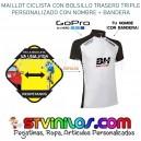 Maillot Ciclismo Logo BH con nombre + bandera
